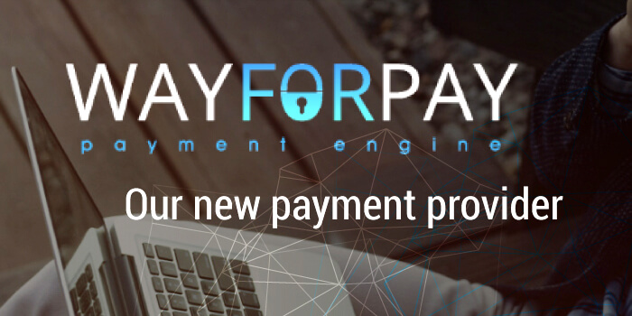 Our new payment provider wayforpay